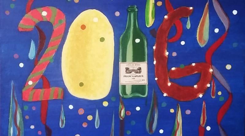 2016, Que la fête commence. Karel de Gendre vous souhaite une Tres Bonne année artistique à tous.