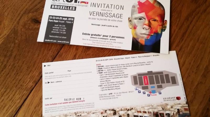 Invitation art3f Bruxelles